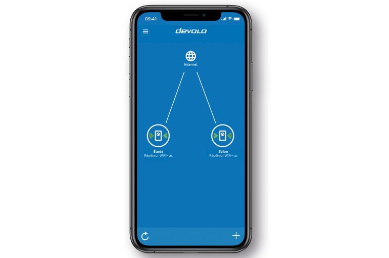 L'application mobile deVolo Home Network