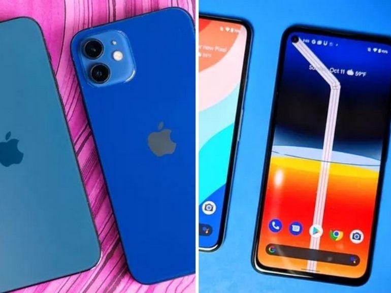iPhone 12 vs Pixel 5 : comparons les flaghip 5G d'Apple et de Google