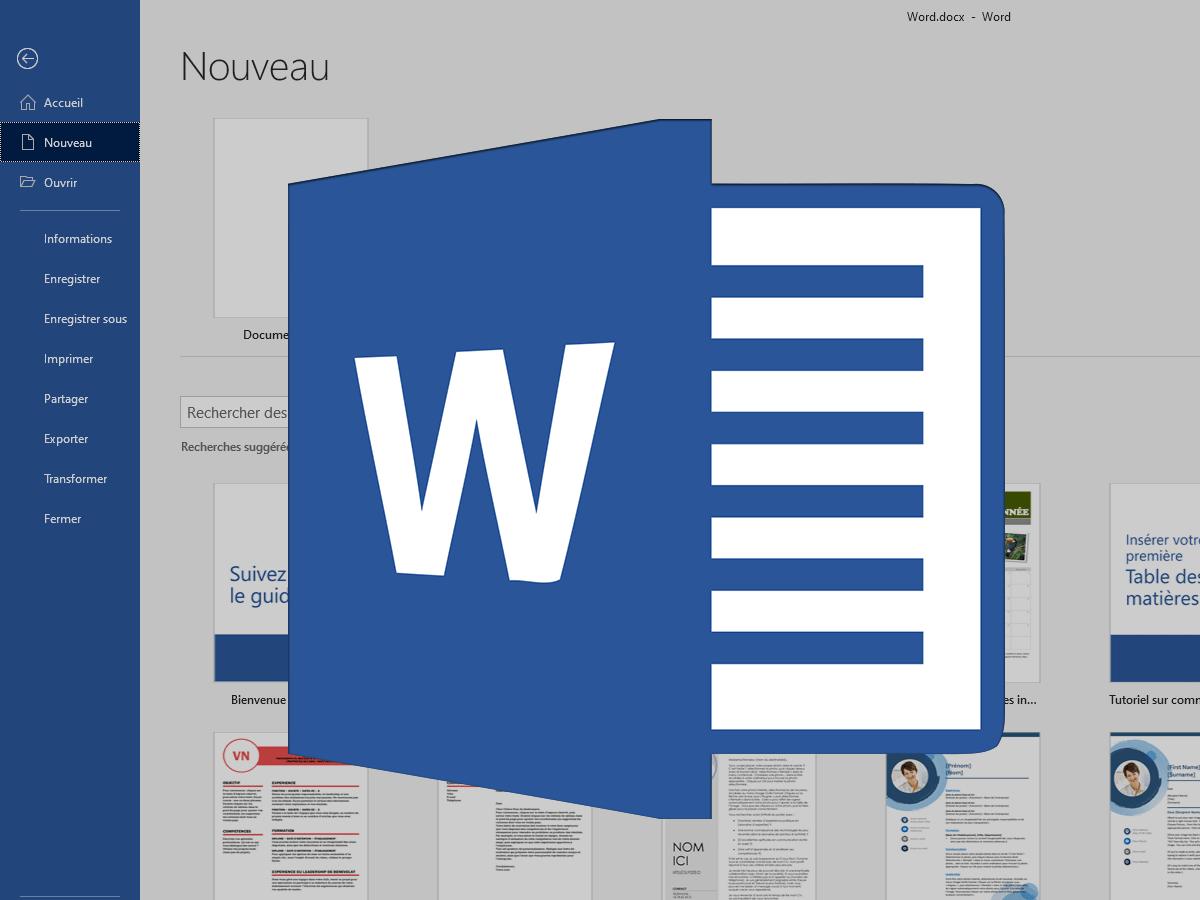 Word : comment numéroter les numéros de page et créer une table des matières
