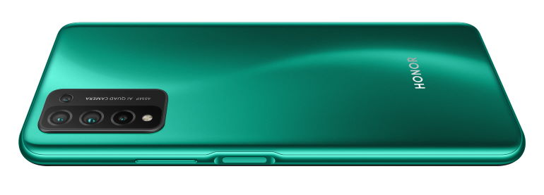 Le smartphone Honor 10X Lite vu de dos