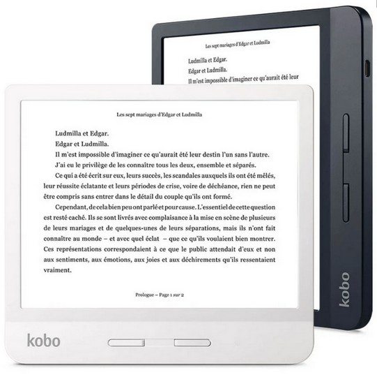 La liseuse Fnac Kobo Libra H20