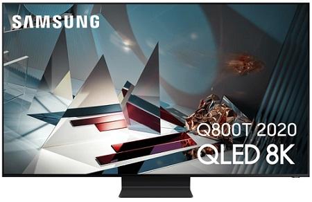 Le téléviseur Samsung QLED Q800T 2020 (8K)