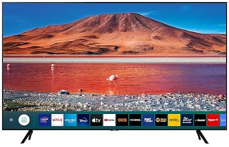 Le téléviseur Samsung Crystal UHD Smart TV série TU125 (4K)