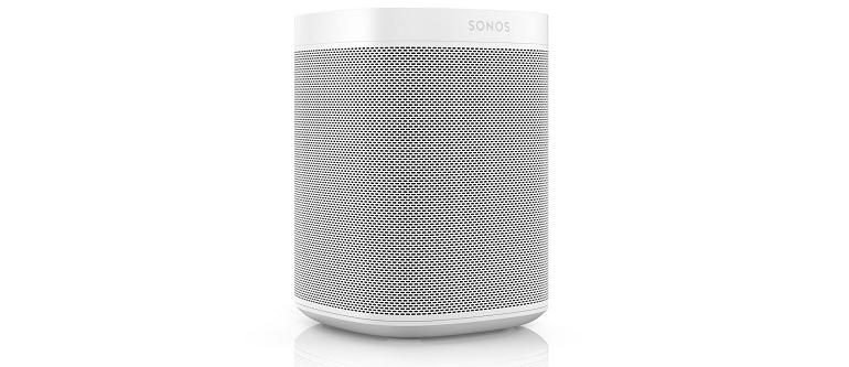 L'enceinte connectée Sonos One SL.