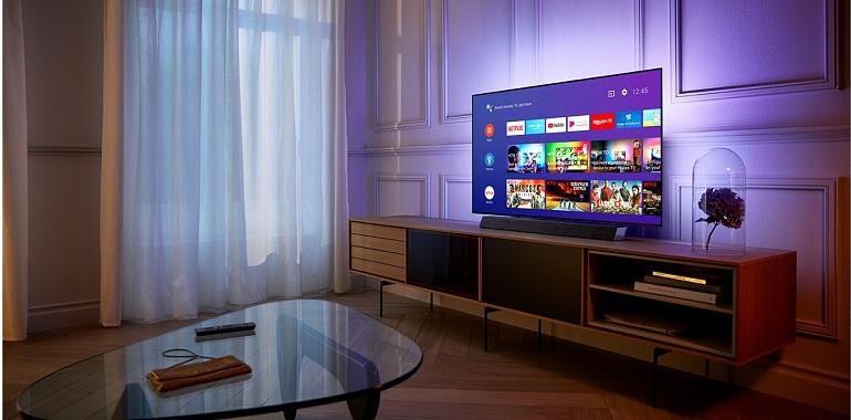 Le téléviseur Philips55OLED934.