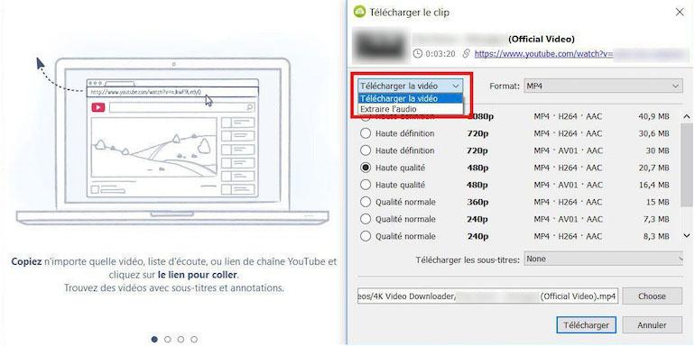 Télécharger des vidéos de haute qualité avec 4K Downloader