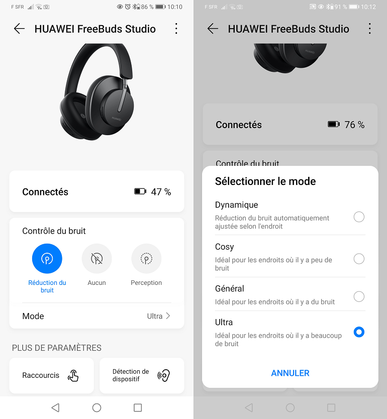 Application Huawei AI Life pour Android