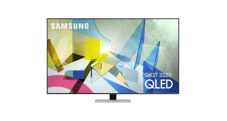 Le téléviseur QLED 55 pouces Samsung QE55Q83T, photo packshot