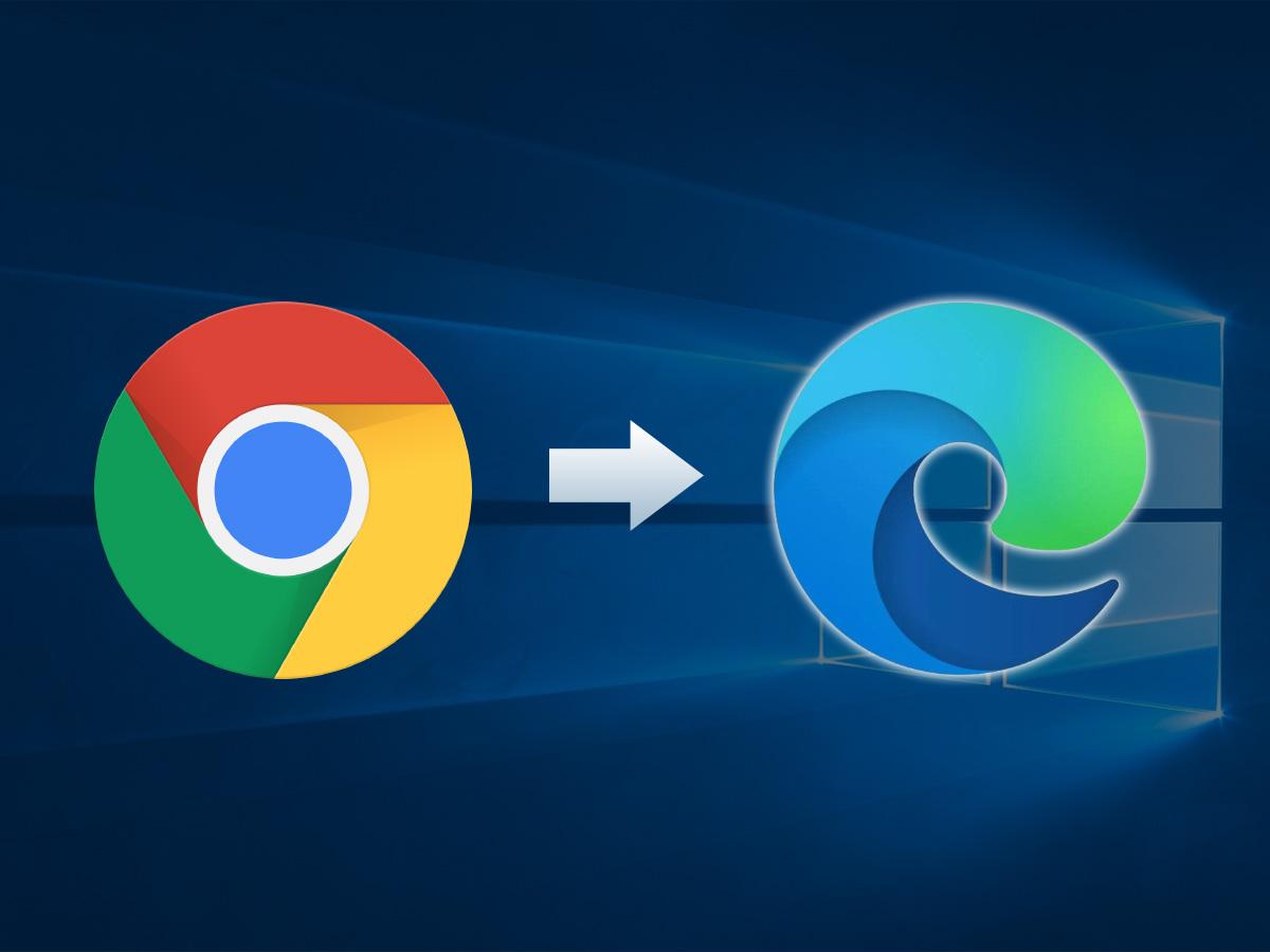 Comment passer de Google Chrome à Microsoft Edge en gardant ses données ?