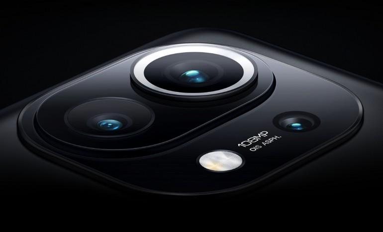 le triple capteur photo principal du smartphone Xiaomi Mi 11