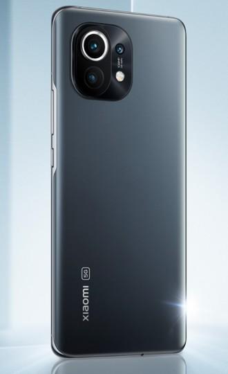 le smartphone Xiaomi Mi 11 vu de dos