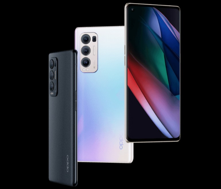 le smartphone OPPO Find X3 Neo vu sous tous les angles