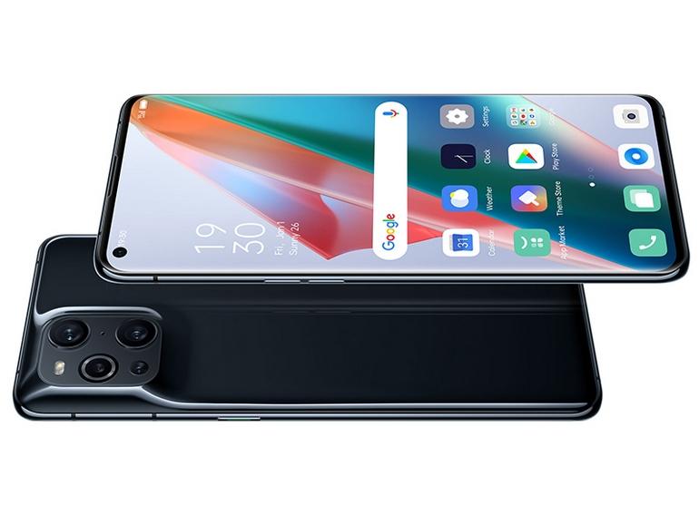 Guarda lo smartphone OPPO Find X3 Pro da tutte le angolazioni