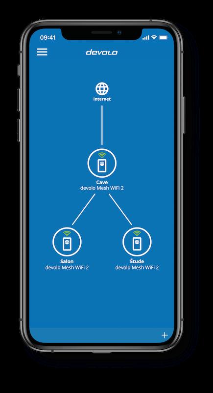 L'application devolo Home Network est disponible gratuitement