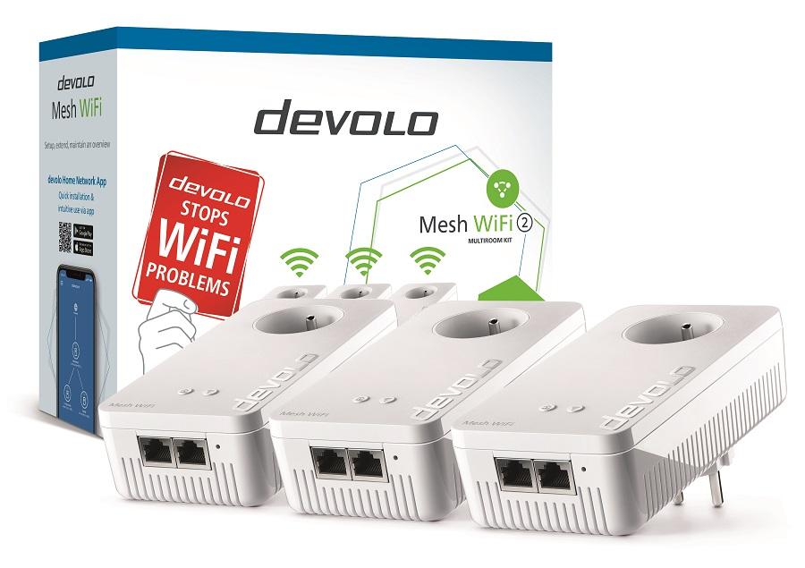 Le kit de démarrage du devolo Mesh Wi-Fi2 contient deux hotspots au prix de 249,90euros