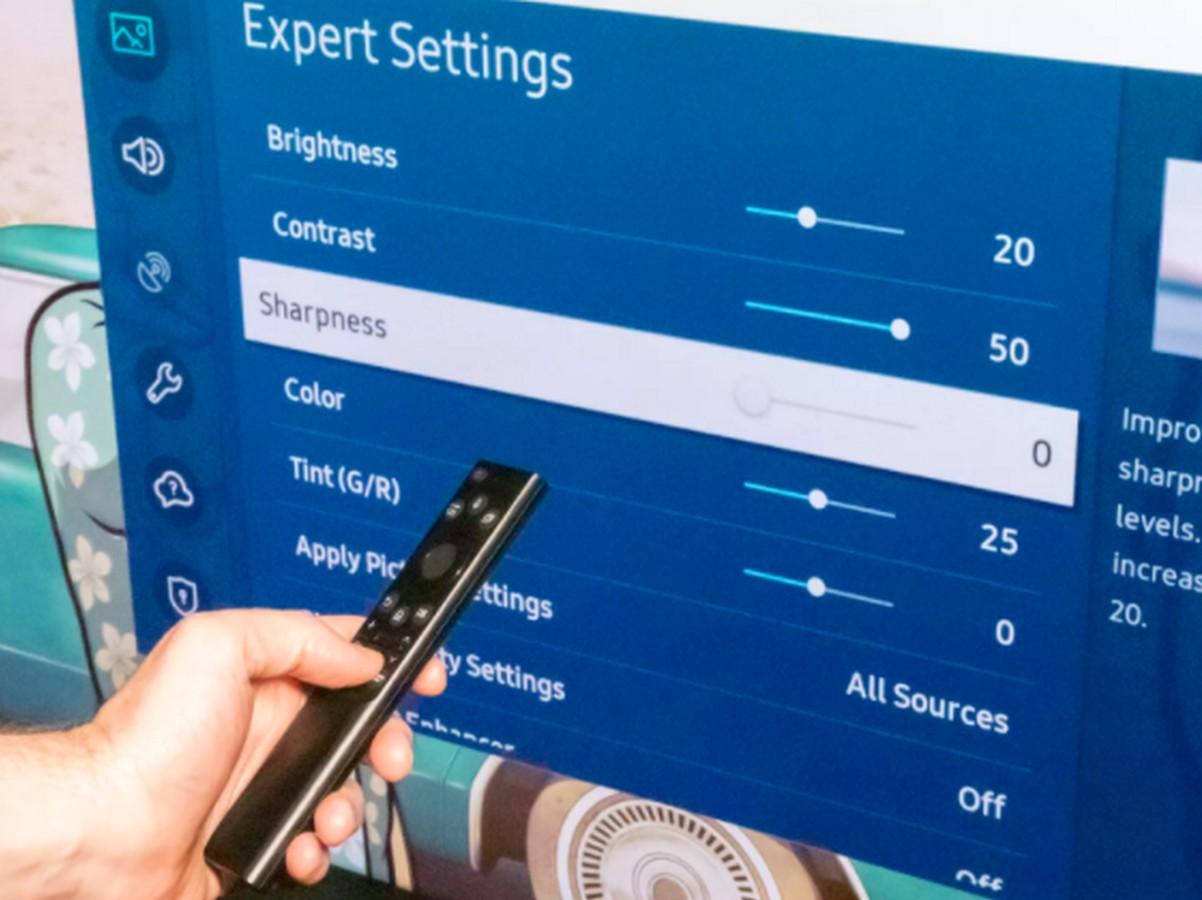 Pourquoi il ne faut jamais augmenter la netteté sur votre TV
