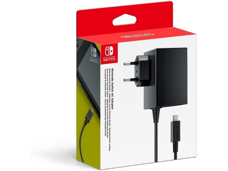 Adaptateur secteur pour Nintendo Switch