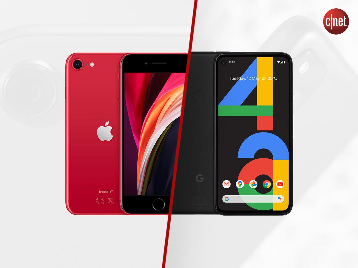 iPhone SE 2020 vs Pixel 4a, le match des petits smartphones