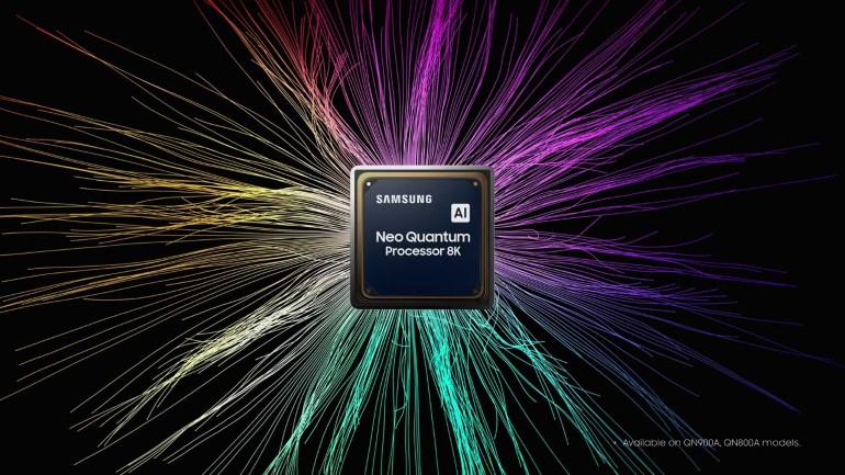 Téléviseurs Samsung Neo QLED, processeur Neo Quantum Processor 8K