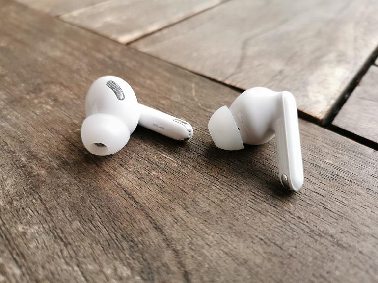Ecouteurs Oppo Enco X, vue générale