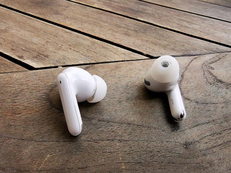 Ecouteurs Oppo Enco X, zoom haut parleur