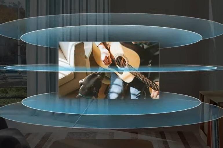 Téléviseurs Samsung Neo QLED, système audio OTS