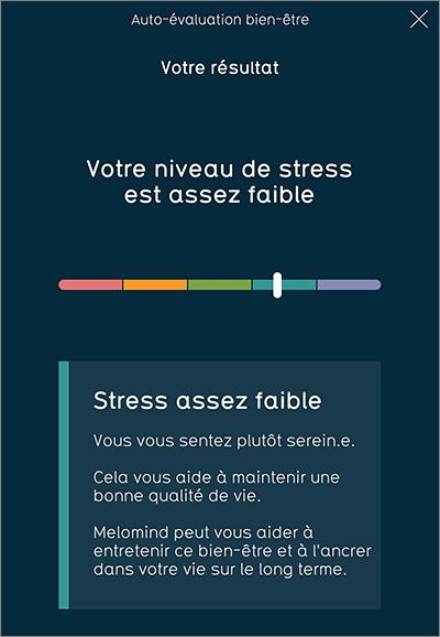 Niveau de stress