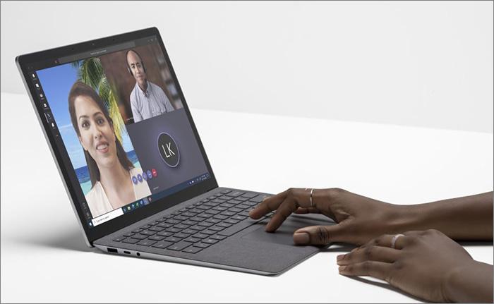 Surface Laptop alcantara