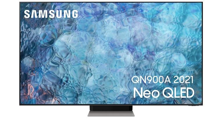 Téléviseurs Samsung Neo QLED Q900A, visuel packshot