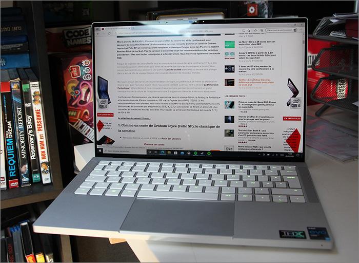Ecran et clavier