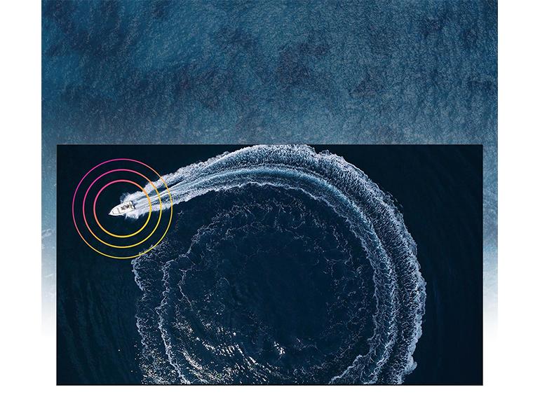 La technologie Object Tracking Sound de Samsung permet de suivre le son d'un objet à l'écran