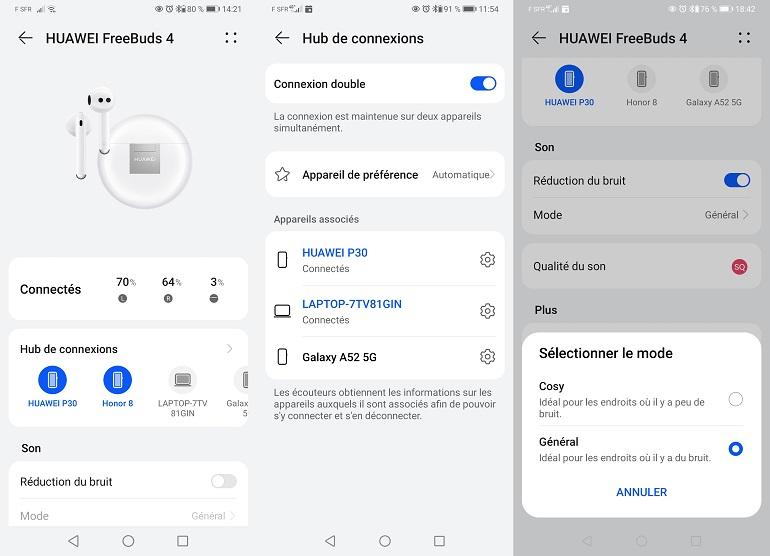 Huawei Appli Al Life menu hub