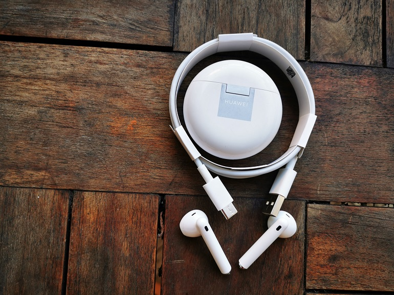 Huawei FreeBuds 4 - Les accesoires