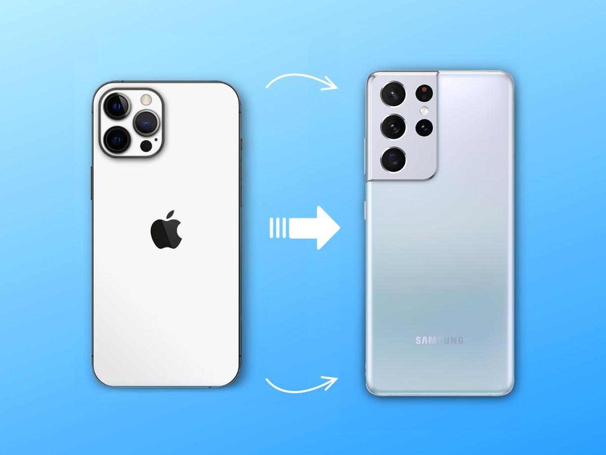 Comment transférer ses contacts et autres données d'un iPhone à un smartphone Android ?