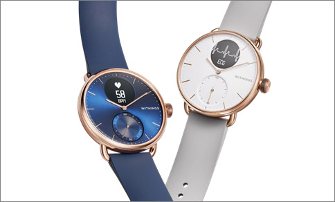 Scanwatch rose gold