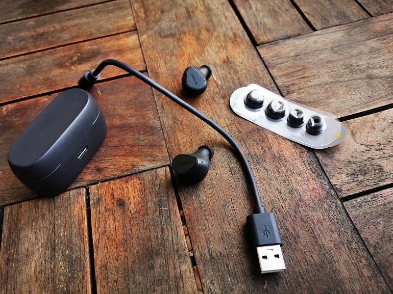 les accessoires des écouteurs Jabra Elite 3
