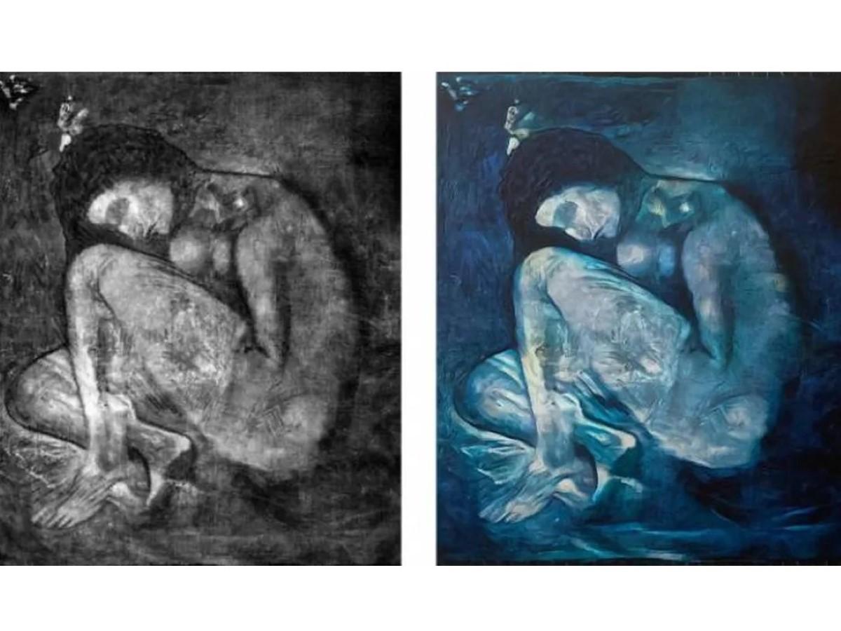 Un nu de Picasso découvert puis recréé grâce à l'intelligence artificielle