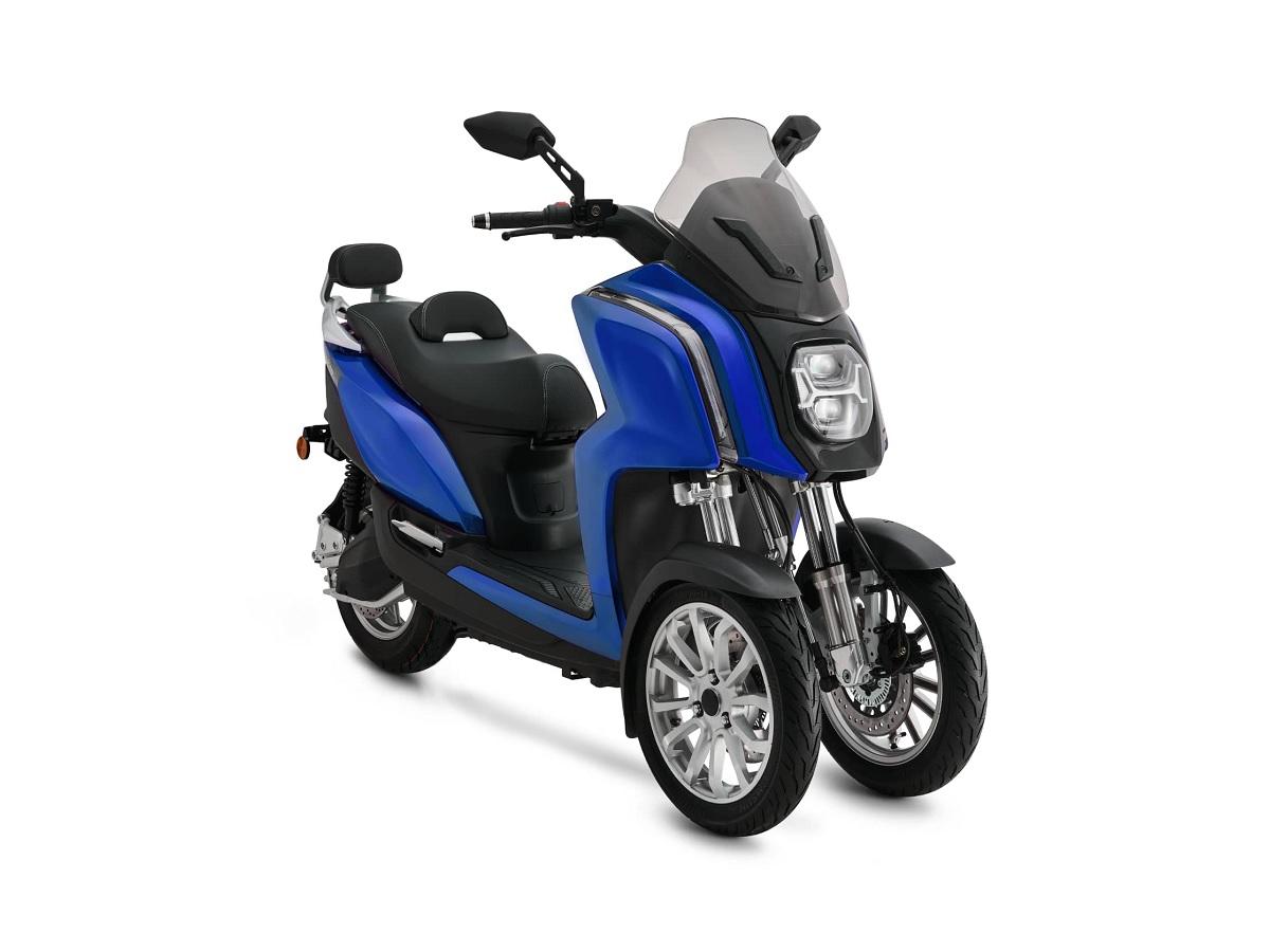 Rider 3R, un scooter électrique trois roues vraiment taillé pour la ville ?