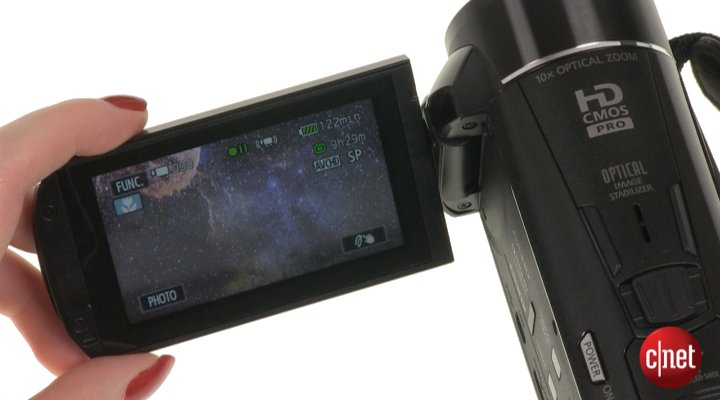 Démo du Canon LEGRIA HF M52