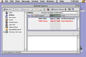 Outlook Express 5.0.6