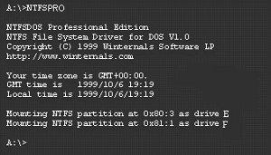 NTFSDOS 3.02