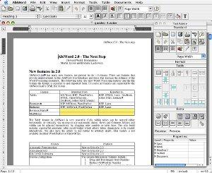 AbiWord (Mac OS X) 2.4.5