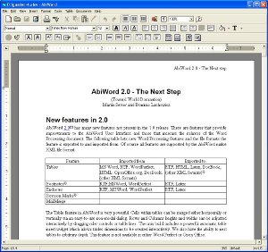 AbiWord Portable 2.8.6