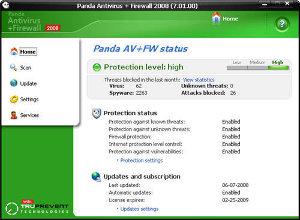 Panda Antivirus + Firewall 2008