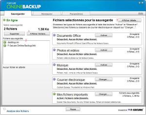 F-Secure Online Backup 2010