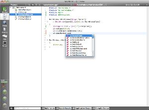 Qt Creator (Mac OS X) 2.0.0