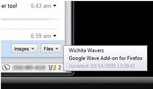 Google Wave Add-on for Firefox 0.0.3