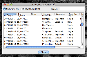 Rainlendar Lite 2.12.2 Build 138