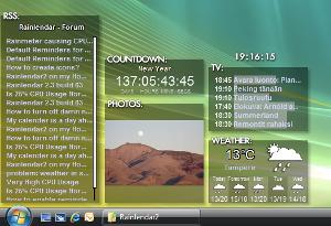 Rainlendar Lite (Windows) 2.12.2 Build 138