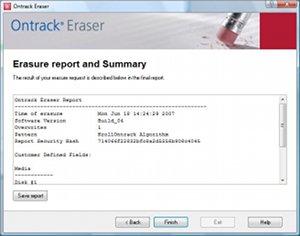 Ontrack Eraser software pour PC/Serveurs 3.4